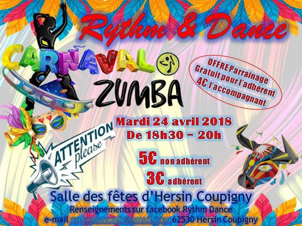 Carnaval de Rythm et Dance à Salle des Fêtes | Hersin-Coupigny | Hauts-de-France | France