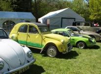 Exposition de véhicules d'époque, NASCAR et Trucks
