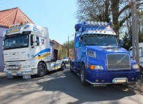 Exposition de camion