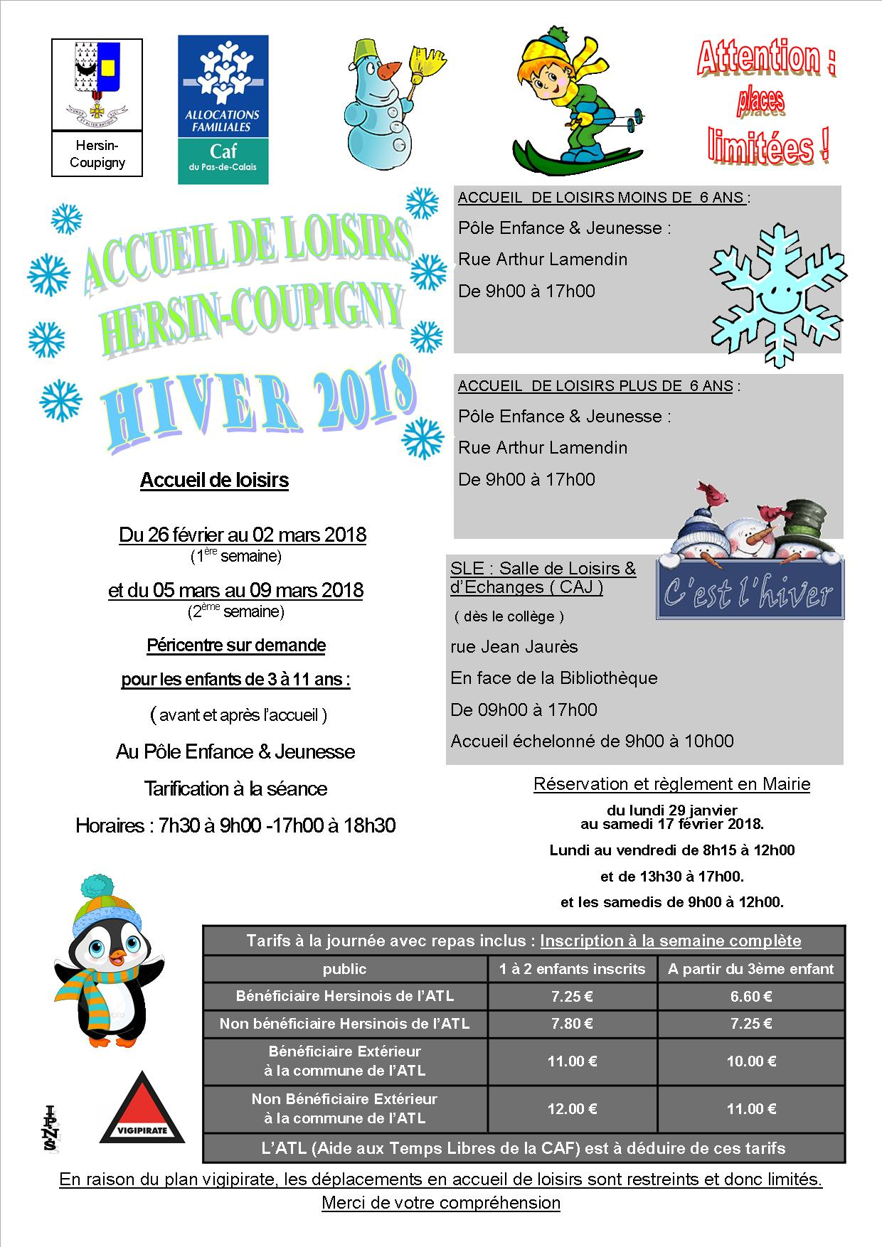 FLYERS HIVER 2018