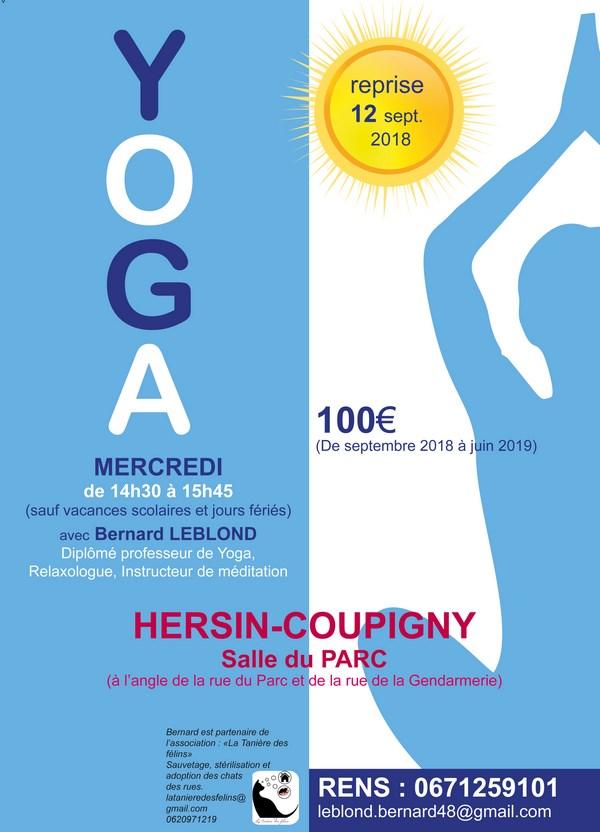 Affiche Yoga à Hersin-Coupigny (Copier)