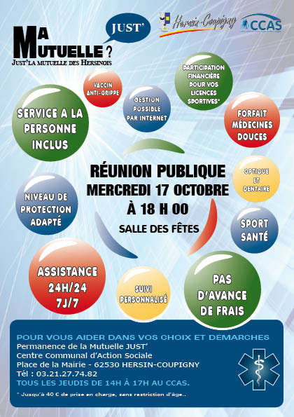flayer mutuelle Just' 20182