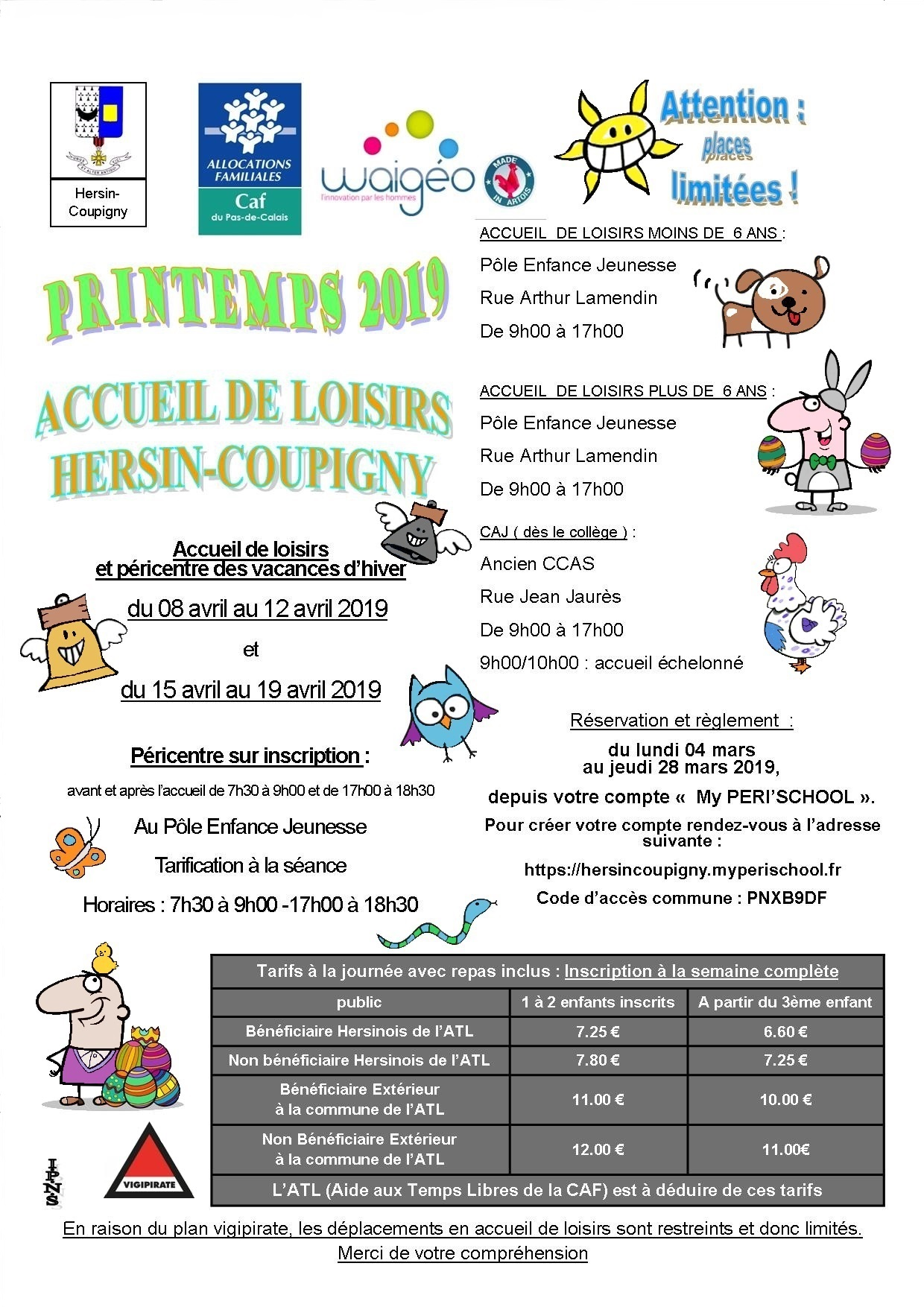 FLYERS PAQUES 2019 II