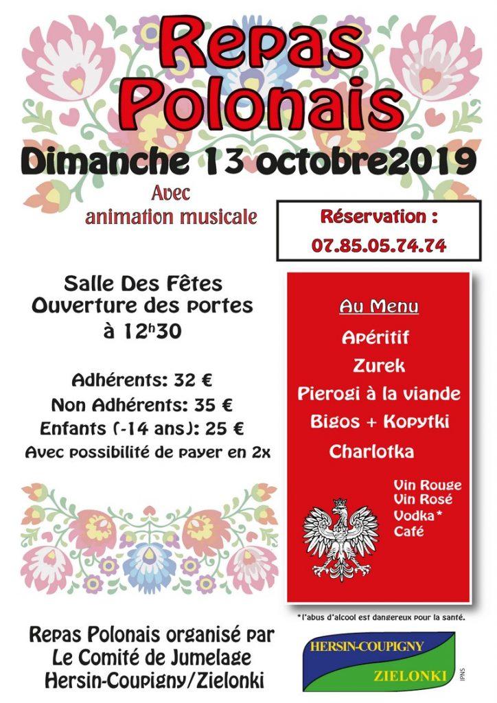 Repas Polonais @ Salle des fêtes   Hersin-Coupigny   Hauts-de-France   France