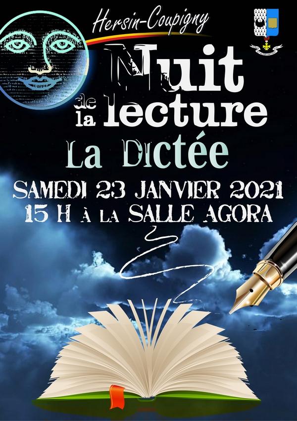 Nuit de la Lecture : La Dictée @ Salle Agora | Hersin-Coupigny | Hauts-de-France | France