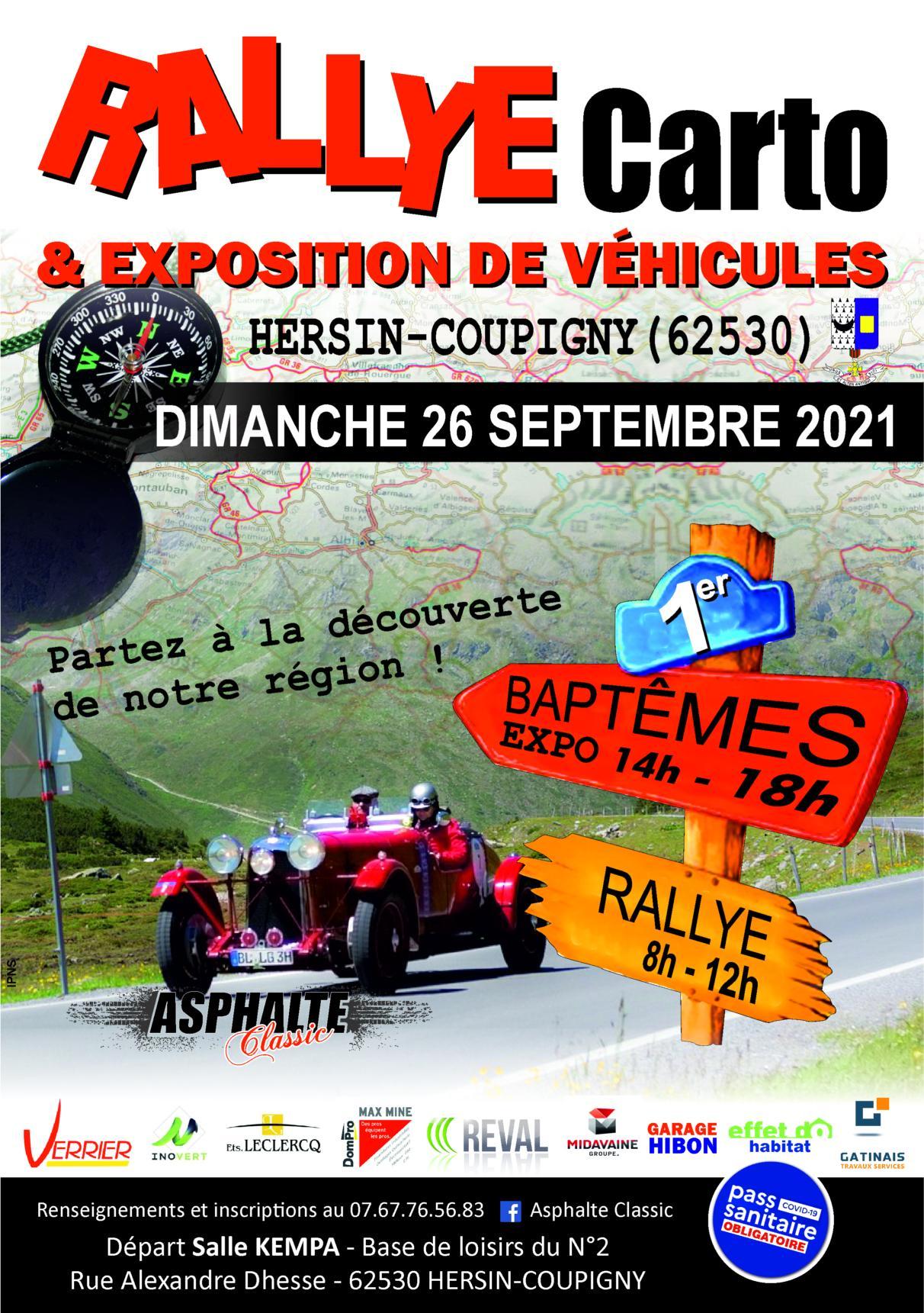 Rallye carto @ Salle Kempa | Hersin-Coupigny | Hauts-de-France | France
