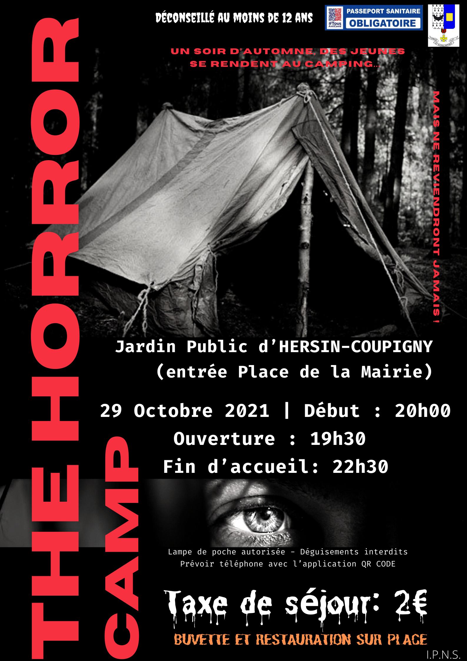 Halloween : The Horror Camps @ Jardin Public | Hersin-Coupigny | Hauts-de-France | France